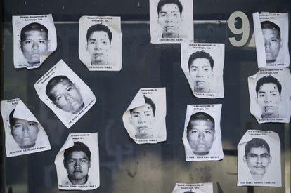 Alunos de Ayotzipan desaparecidos.