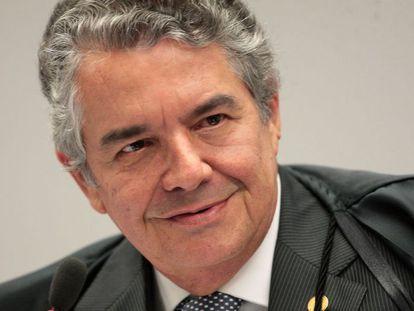 O ministro Marco Aurélio Mello, em imagem de junho de 2019.