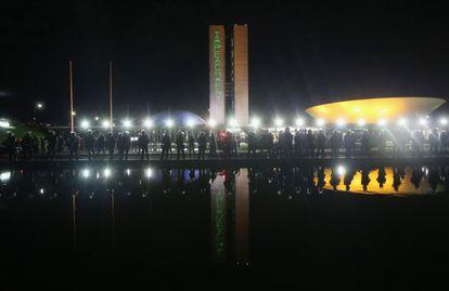 Ato em Brasília pró-impeachment dia 21 de março.