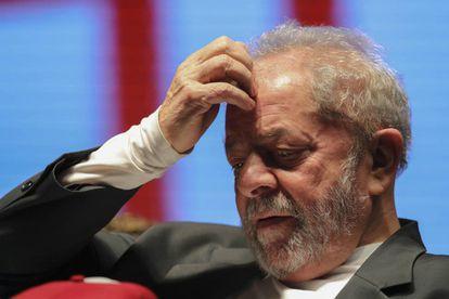 Lula em evento da Juventude Socialista em São Paulo, em 26 de julho.