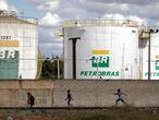 Una planta de Petrobras en Brasilia en julio pasado.