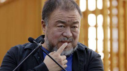 Ai Weiwei, em foto de outubro em Nova York