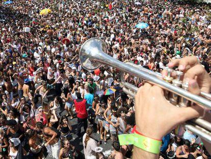Carnaval no Largo da Batata no ano passado em São Paulo.