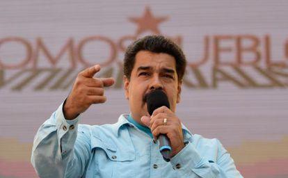 Nicolás Maduro discursa em evento no dia 18.