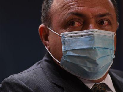 Ex-ministro da Saúde, Eduardo Pazuello, em janeiro de 2021.