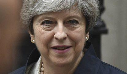 A primeira-ministra britânica, Theresa Maio