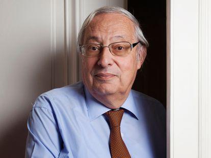 Bertrand Badie, em seu escritório do Instituto de Estudos Políticos em 2016.