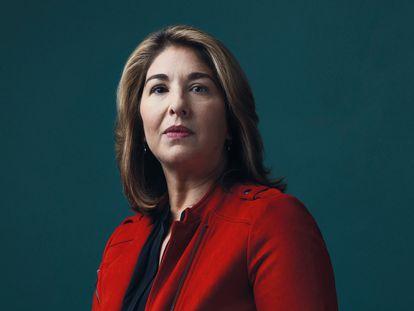 A jornalista Naomi Klein, fotografada em setembro de 2019.