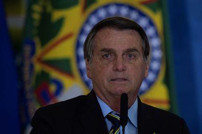 O presidente Jair Bolsonaro, fotografado na terça-feira, 12 de maio.