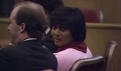 Ma Anand Sheela, no documentário 'Wild Wild Country'.
