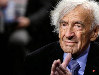 Elie Wiesel, em 2015.
