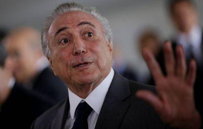 Presidente Michel Temer no Itamaraty, em Brasília.