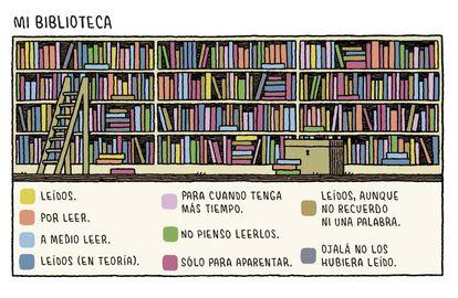 Desenho de Tom Gauld para seu livro 'En la Cocina con Kafka', publicado na Espanha em 2018 pela Salamandra Graphic.