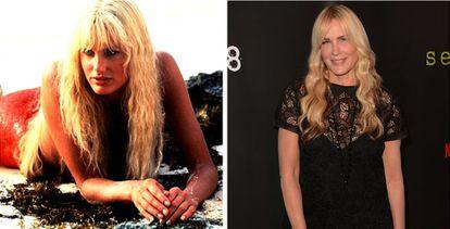 Daryl Hannah, antes e agora.