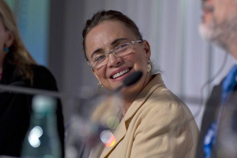 Imagem de arquivo da atriz Regina Duarte.
