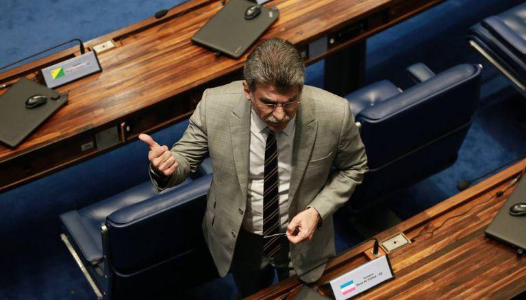 Romero Jucá no Senado.
