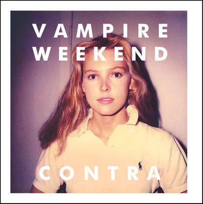 A capa do disco 'Contra', do Vampire Weekend, que tantas dores de cabeça trouxe para a banda.