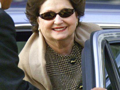A viúva de Pinochet, Lucía Hiriart, em 2011.