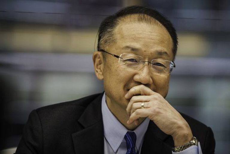 Jim Yong Kim, presidente do Banco Mundial, esta semana em Washington.