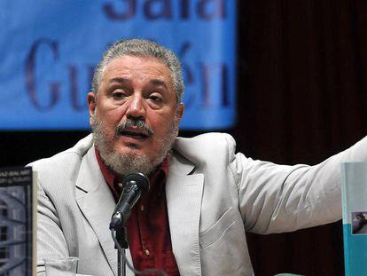 O primogênito de Fidel Castro em uma foto de 2010