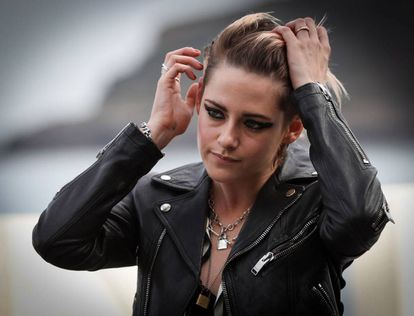 Kristen Stewart, na apresentação de 'Seberg' em San Sebastián.