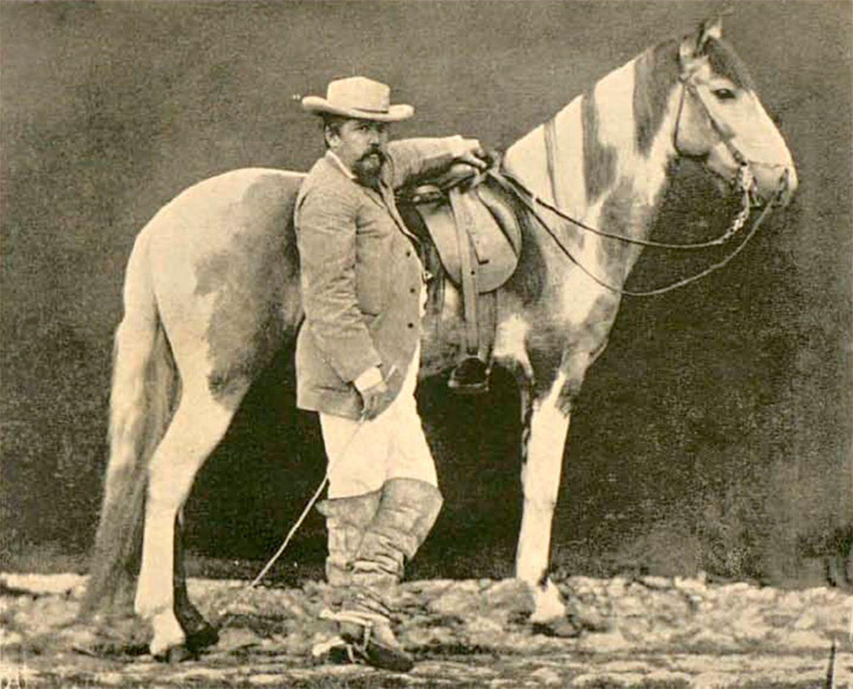 Proprietário de latifúndio do Nordeste no fim do século XIX.