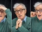 """NEW YORK, NY - OCTOBER 14:  Woody Allen at the """"Wonder Wheel"""" Press Conference at the Ritz-Carlton Hotel on October 14, 2017 in New York City.  (Photo by Vera Anderson/WireImage)"""