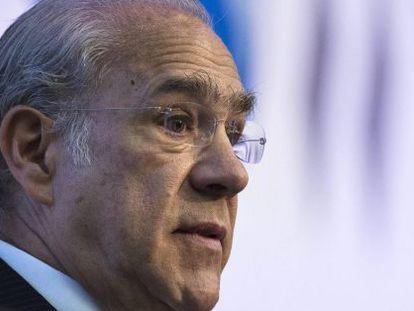 O secretário-geral da OCDE, José Ángel Gurría.