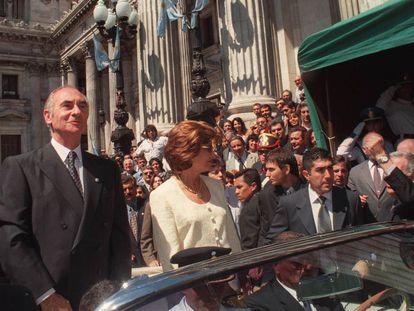Fernando de la Rúa em 10 de dezembro de 1999.