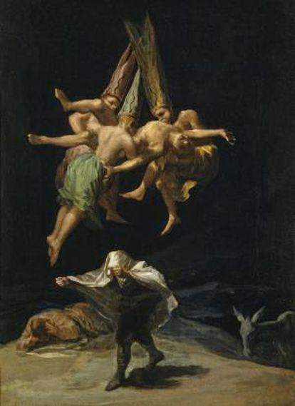 'Voo de bruxas', de Francisco de Goya