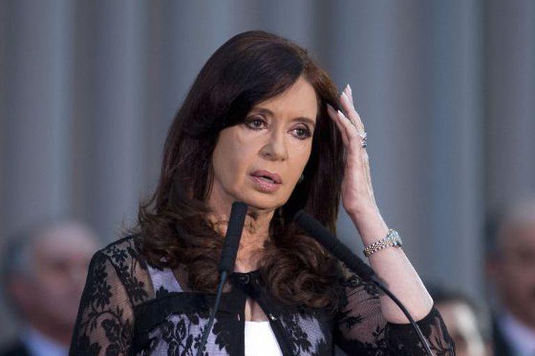 A presidente argentina, Cristina Kirchner, em 10 de dezembro.