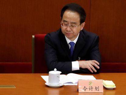 Ling Jihua em uma reunião em Pequim, em uma foto de arquivo de 2013.
