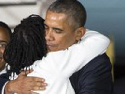 Mandatário norte-americano visita pela primeira vez como presidente dos Estados Unidos o país de seu pai