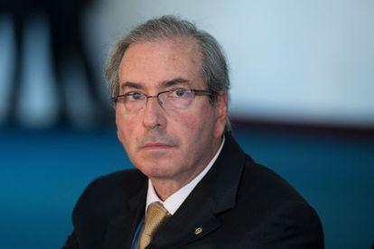 O candidato à presidência da Câmara, Eduardo Cunha.