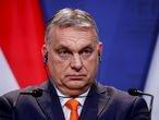 FILE PHOTO: Hungary's Prime Minister Viktor Orban in Budapest, Hungary, April 1, 2021. REUTERS/Bernadett Szabo/File Photo
