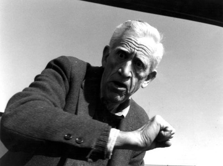 O escritor Jerome David (J. D.) Salinger.