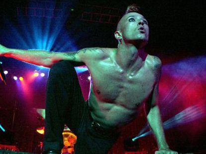 Scott Weiland, em um show em Atlanta, em 2000.