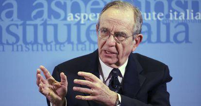 Pier Carlo Padoan, ministro italiano da Economia.