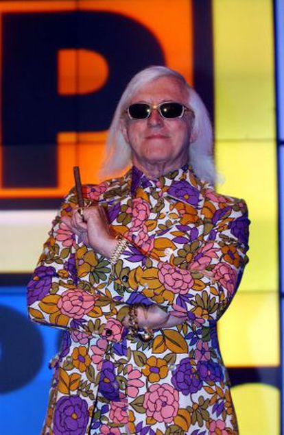 O apresentador britânico Jimmy Savile, em uma imagem de 2001.