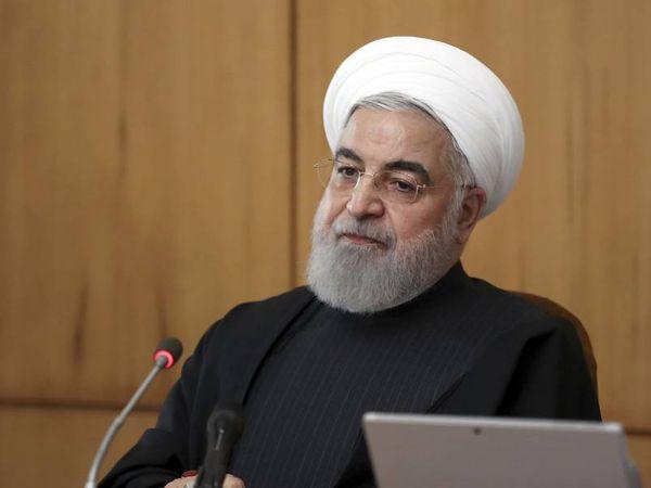 El presidente de Irán, Hasan Rohani, a principios de este año.