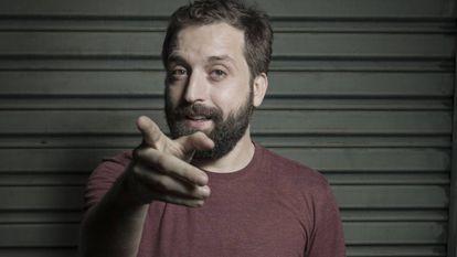 O humorista Gregório Duvivier, no Rio.