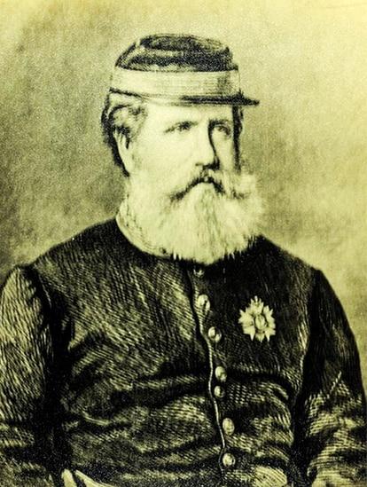 D. Pedro II, que só aceitou o fim da guerra após a morte de Solano López (imagem: Museu Imperial)