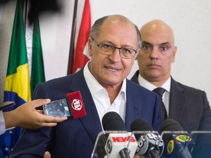 Geraldo Alckmin e Alexandre de Moraes, em 2016.