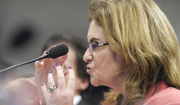 A presidenta da Petrobras, Graça Foster.