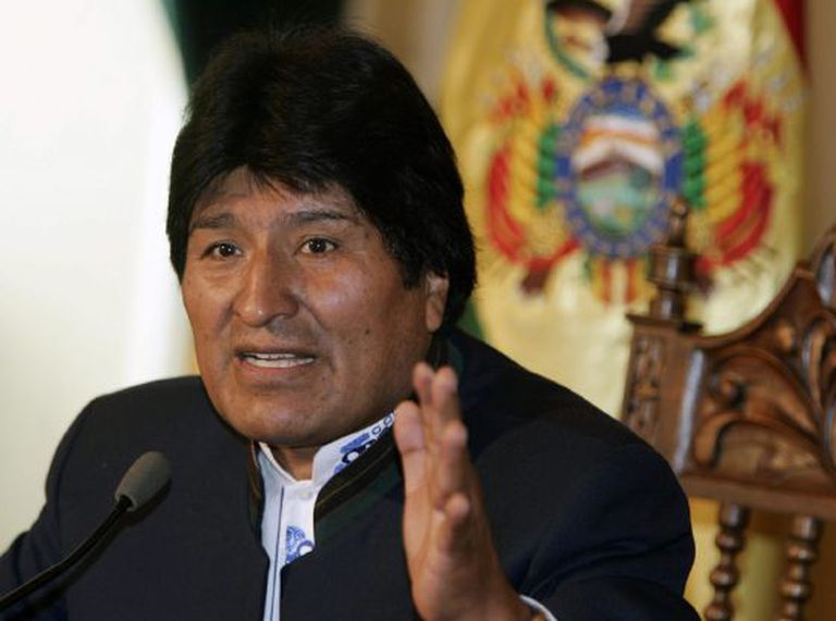 O presidente boliviano, Evo Morales.