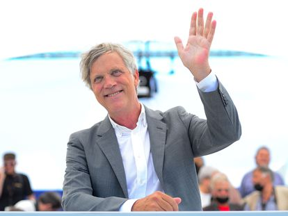 O diretor Todd Haynes na apresentação de seu documentário 'The Velvet Underground' em Cannes.