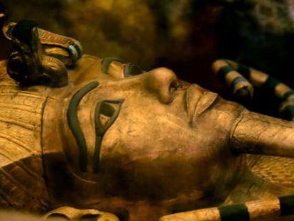 Uma equipe de pesquisadores confirma que o ferro da arma do faraó veio do espaço