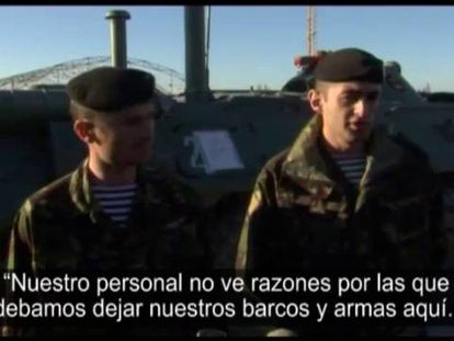 Ucrânia ordena a retirada de todas as suas tropas da Crimeia