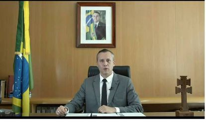 O pronunciamento do secretário Roberto Alvim.