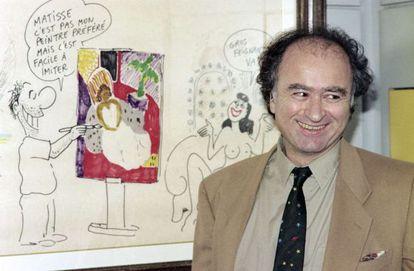 George Wolinski em 1990.